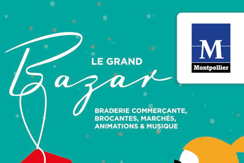Le Grand Bazar de Printemps 2018 à Montpellier