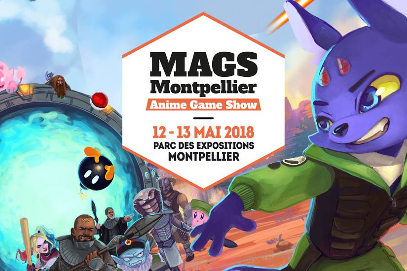 Montpellier Anime Game Show 2018