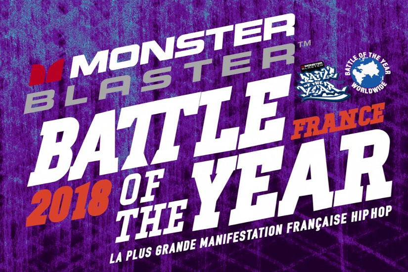 Monster Blaster Battle of the Year France 2018