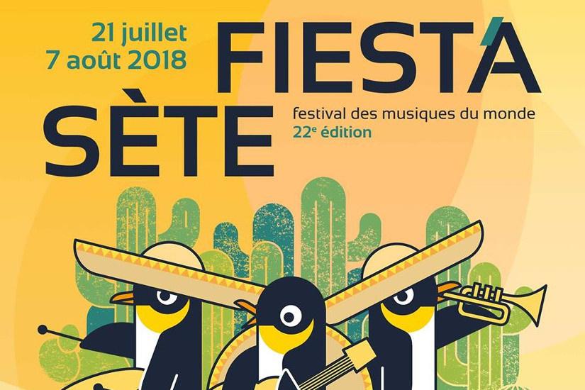 Fiest'A Sète 2018, du 21 juillet au 7 août 2018