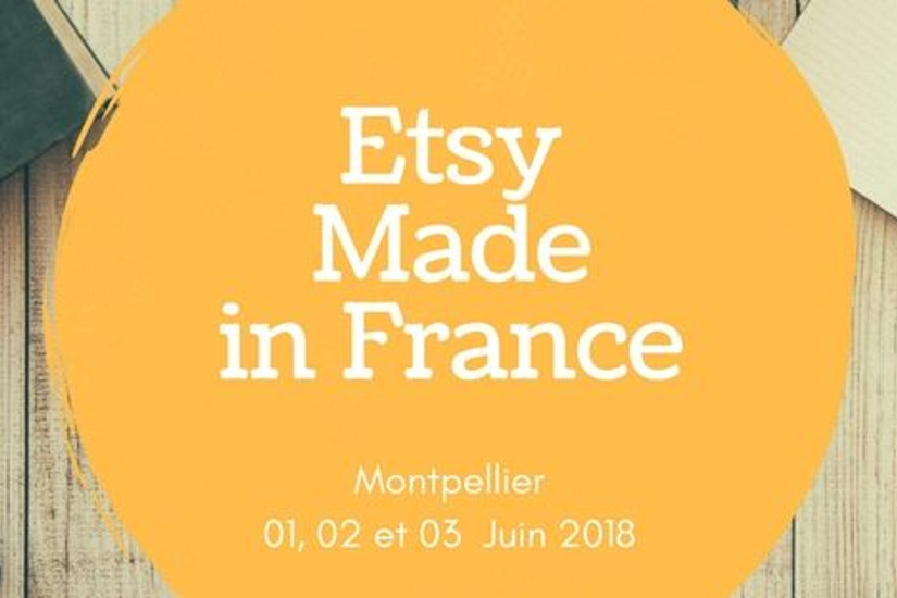 ETSY Made in France au Château de Flaugergues