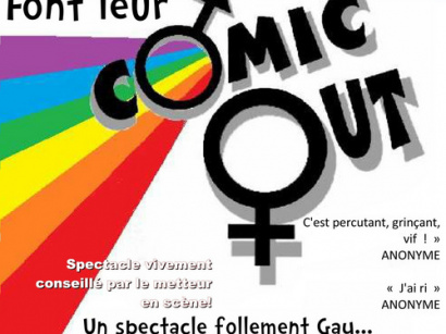 COMIC OUT, le spectacle follement gay !