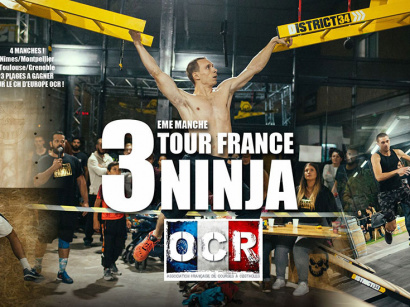 3e Manche Tour France OCR Ninja chez District 34