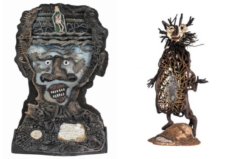 Exposition Jano Pesset au Musée d'Art Brut de Montpellier