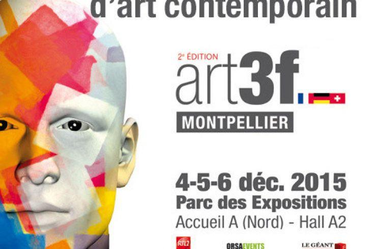 Salon international d\'art contemporain - ART3F Montpellier 2015 ...